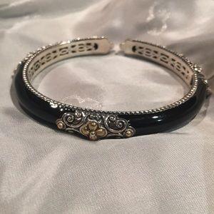 Barbara Bixby enamel bangle bracelet